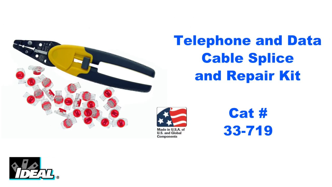 33-719 Telephone And Data Cable Splice Kit