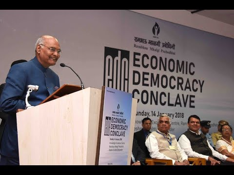 President Kovind inaugurates Economic Democracy Conclave in Mumbai
