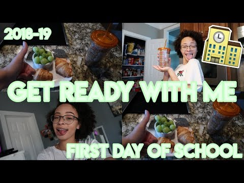 FIRST DAY OF SCHOOL GRWM: BREAKFAST, HAIR, MAKEUP, ETC.