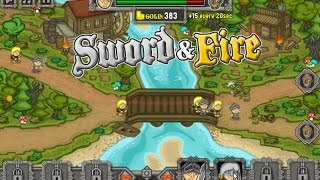 Sword & Fire Gameplay Video - Defense War Game