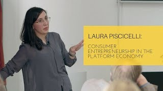 Consumer entrepreneurship in the platform economy
