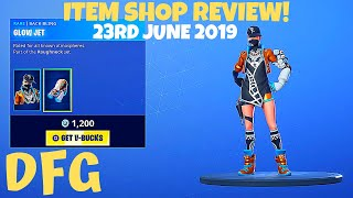 Fortnite Item Shop REVIEW*NEW*BIZ SKIN & LEAKED LTM'S! (23rd JUNE 2019) (Battle Royale)