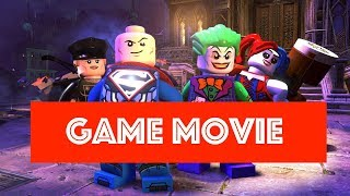 LEGO DC SUPER VILLAINS All Cutscenes Game Movie - Story Line