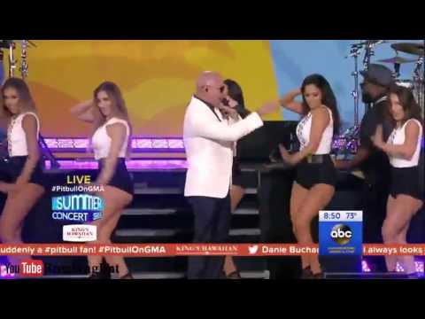 Pitbull - Don't Stop The Party LIVE in GMA