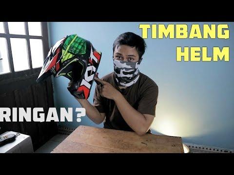 HELM CROSS INDONESIA RINGAN? KYT Jumpshot