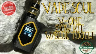 Vapesoul Vone Kit W/Blue Tooth Review