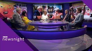 Trump's UK visit Day 2: Discussion - BBC Newsnight