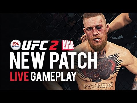 EA SPORTS UFC 2 NEW PATCH LIVE STREAM