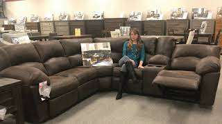 Ashley 27802 Tambo Recliner Sectional - SpeedyFurniture.com