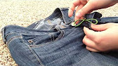 🔎 HOW TO STOP A ZIPPER FROM UNZIPPING ITSELF 👖 - YouTube