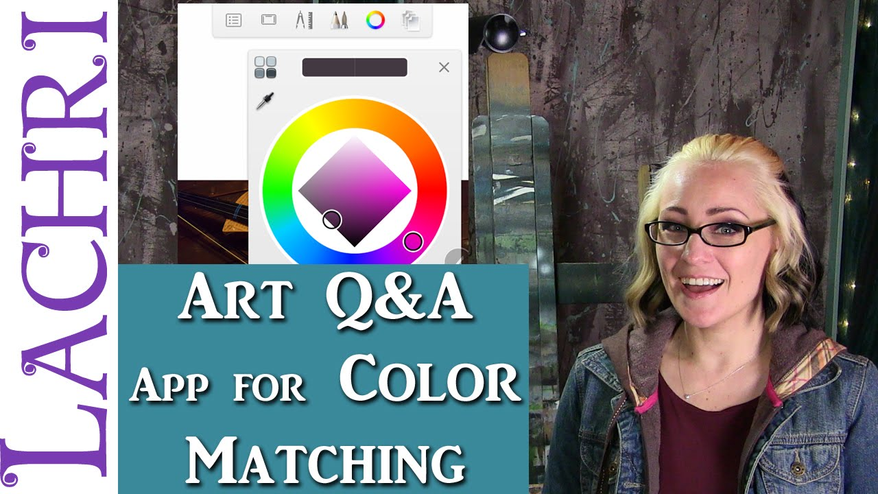 Art Q A The App I Use To Color Match On My Phone W Lachri Youtube