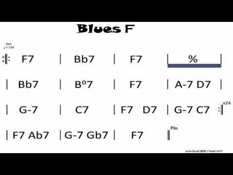 BLUES F  jam