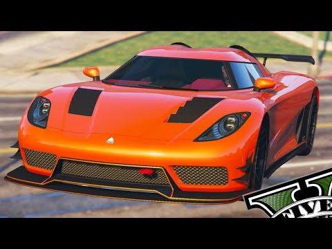 GTA V Online - Tunando Novo Carro Super Entity XXR