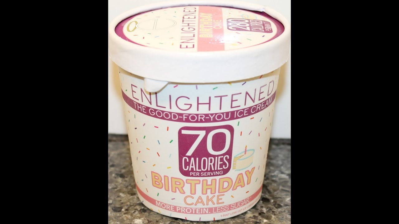 Enlightened Birthday Cake Ice Cream Review