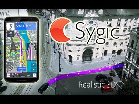 Sygic GPS Navigation for Android 17.2.10  Real View Navigation