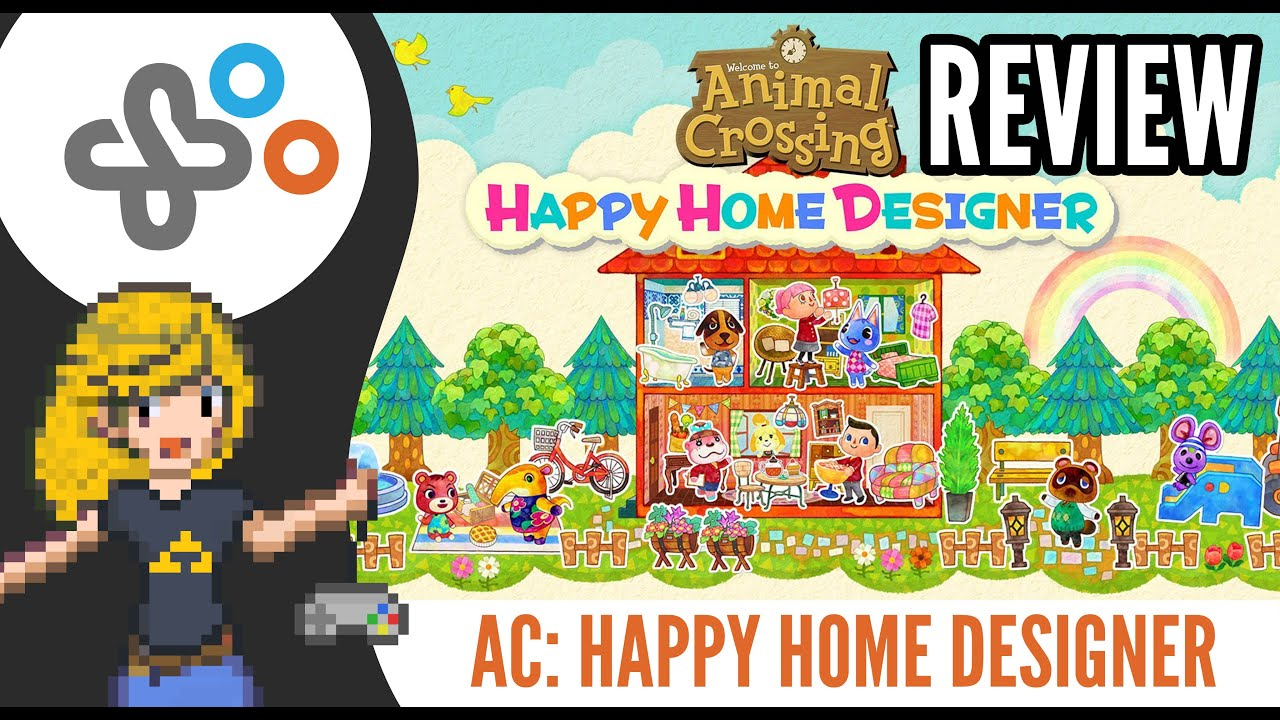 animal crossing happy home designer review nintendo 3ds youtube