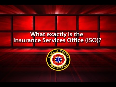 What is the Insurance Services Office (ISO)?