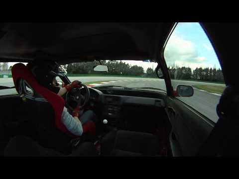 Honda CRX ED9 - Misano World Circuit, 2nd session