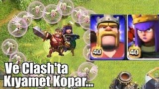 Kral - Kraliçe Yürüyüşü (AYNI ANDA BERABER) - Clash of Clans