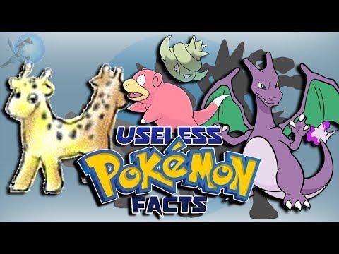 20 Useless Pokémon Facts