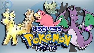 20 Useless Pokémon Facts
