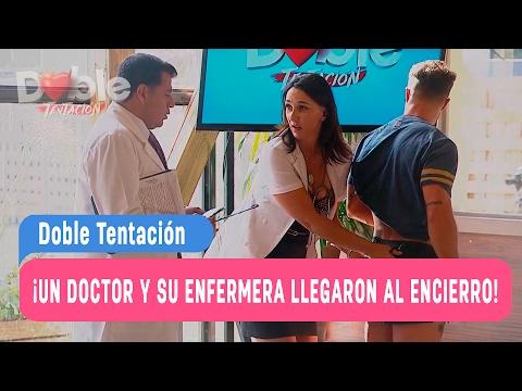 Doble Tentación - ¡Un Doctor y su enfermera llegaron al encierro! / Capítulo 18