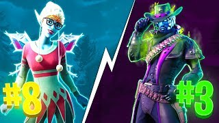 10 SKINS THAT ONLY STAY EDAtONCE IN THE STORE! FORTNITE BATTLE ROYALE