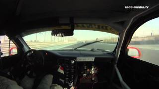 24H Dubai 2012 Onboard race&event Car Collection 1 Porsche 997 GT3 Cup-S Race Finish