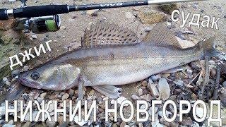 Рыбалка в Нижнем Новгороде. Джиг. Судак.