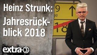 Heinz Strunks Jahresrückblick 2018