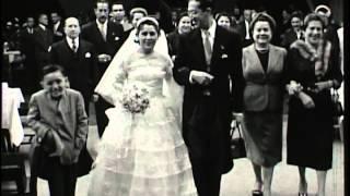 Matrimonio de Grimanesa Bustios y Carlos Ravelli (Sept. 18,1955) Lima Peru