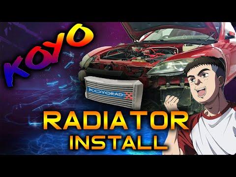Mazda Rx8 Koyo Radiator Install