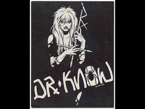 Dr  Know - Fist Fuck (Lyrics on screen)