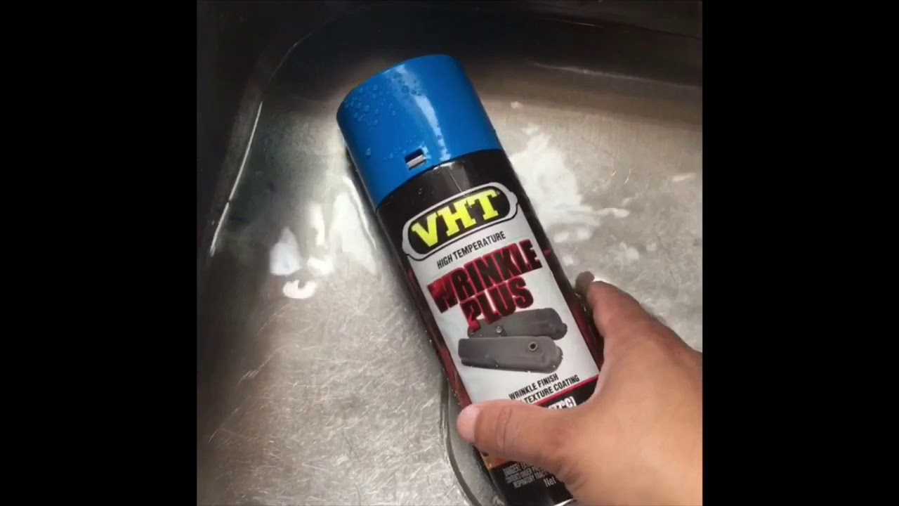 Download How to spray paint a k20 valve cover with VHT wrinkle paint.