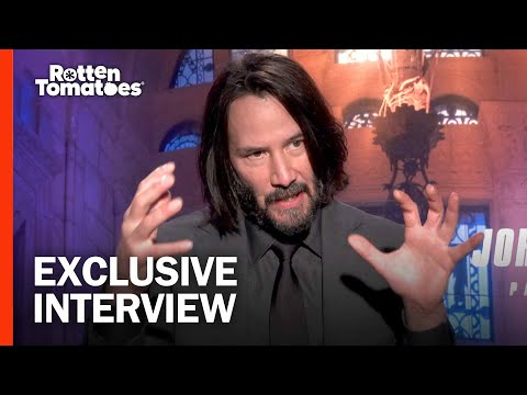 (Spoilers) Keanu Reeves Thinks He Could Kill A Guy With Butter   John Wick: Chapter 3 Interview