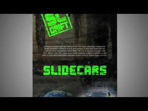 Propagační leták pro Slidecars drift team
