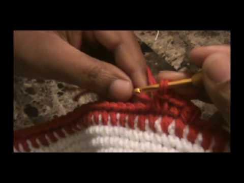 b711cf00 How to crochet a brim Part 1/2