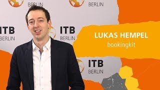 ITB eTravel Lab 2019: Lukas Hempel about Increasing Sales with AI