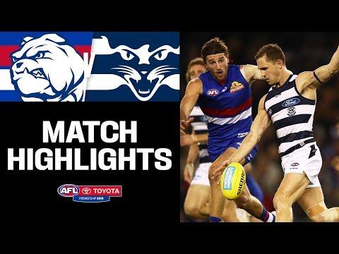 Western Bulldogs V Geelong Highlights | Round 16, 2019 | AFL