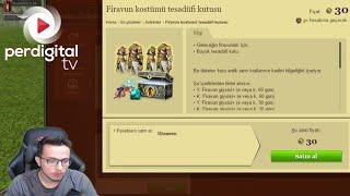 15 Adet Firavun Kostümü Tesadüfi Kutusu Açımı - Metin2 TR #179