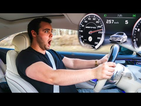 HITTING THE TOP SPEED OF MY S63 AMG RENTAL CAR ON THE AUTOBAHN!!!
