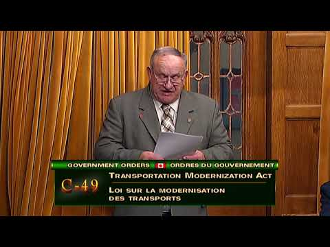 Bill C-49 - Transportation Modernization Act