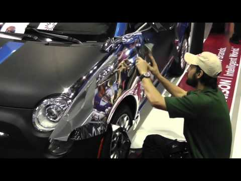 Avery Dennison Conform Chrome Fender Youtube