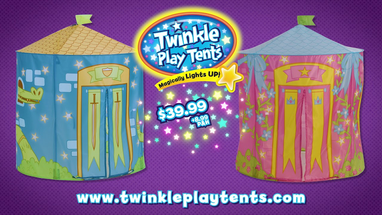 Twinkle Play Tents Official Commercial!  sc 1 st  YouTube & Twinkle Play Tents Official Commercial! - YouTube
