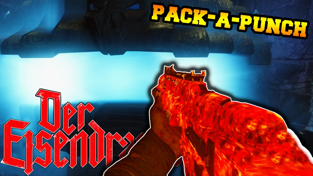 Black Ops 3 Zombies Der Eisendrache How To Pack A Punch Tutorial