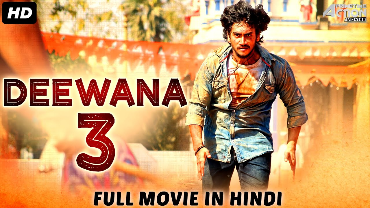 DEEWANA 3 - Hindi Dubbed Full Action Romantic Movie | South Indian Movies Dubbed In Hindi Full Movie