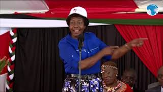 Ngilu tells President Kenyatta that women have asked for so much in leadership, they will now take