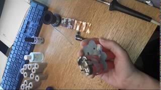Batareya 14.4 bir screwdriver (almashtirish qutilari)dan V