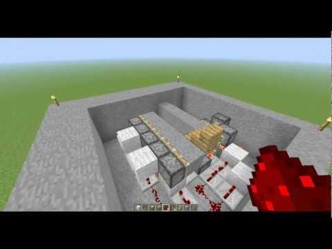 Minecraft Ukryte Schody