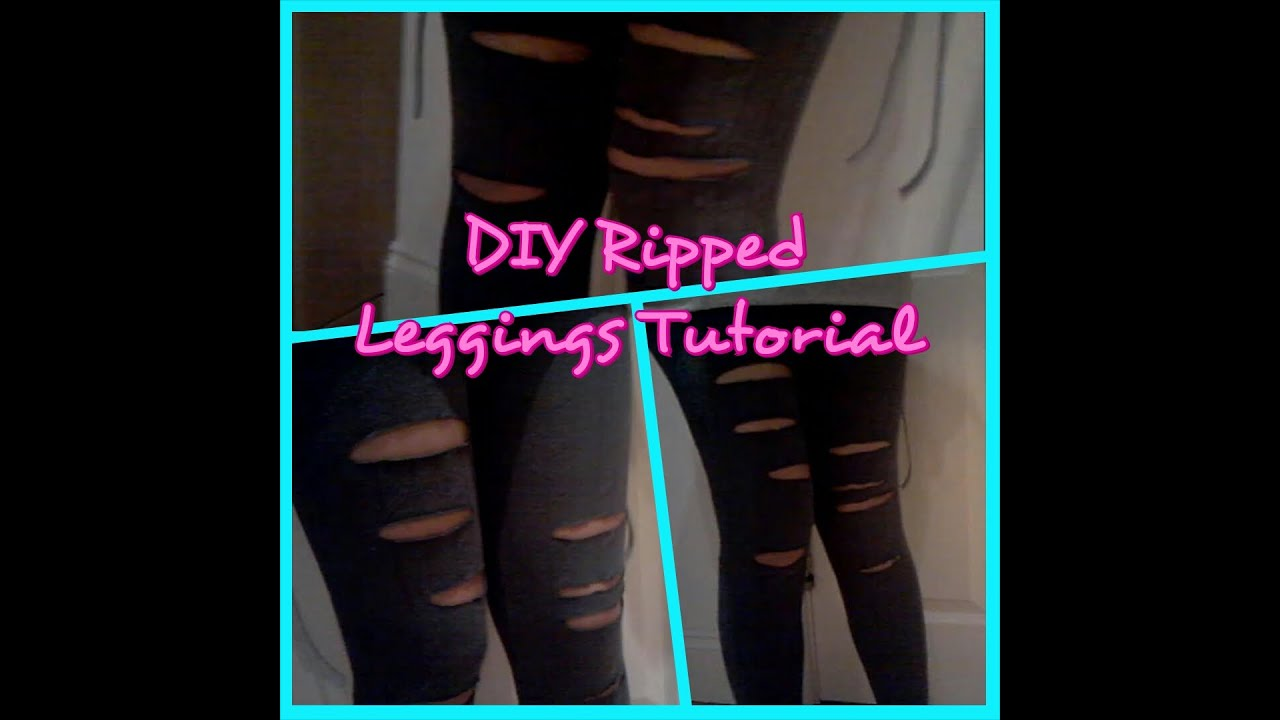 How To Make Cut Out Leggings